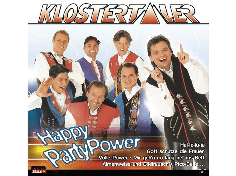 Klostertaler - Happy Party Power [CD]