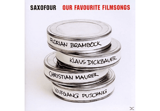 Saxofour - Our Favourite Filmsongs - (CD)