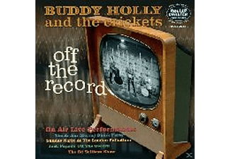 "Buddy Holly - Off The Record-On Air Live Performances-10""lp - (Vinyl)"