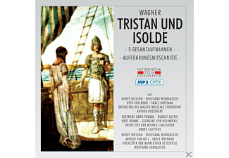 VARIOUS - Tristan Und Isolde-Mp 3 Oper - (MP3-CD)
