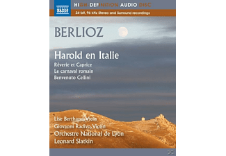 Leonard Slatkin, Orchestre National De Lyon - Harold in Italien/Ouvertüren - (Blu-ray Audio)