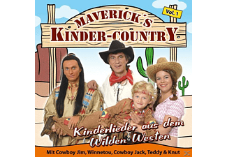 Maverick's Kinder Country - Kinderlieder aus dem Wilden Westen - (CD)