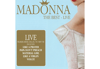 Madonna - The Best-Live - (CD)
