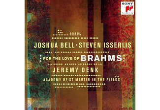 Joshua Bell - For the Love of Brahms (CD)