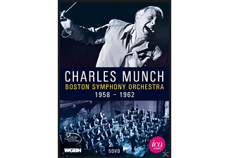 Charles/boston So Munch - Charles Munch And The Bso - (DVD)
