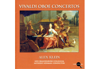 Alex Klein, New Brandenburg Collegium, A. Newman - Oboenkonzerte - (CD)