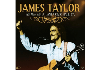 James Taylor - 13th May 1981 Atlanta - (CD)