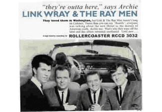 Link & His Raymen Wray - They're Outta Here - (CD)
