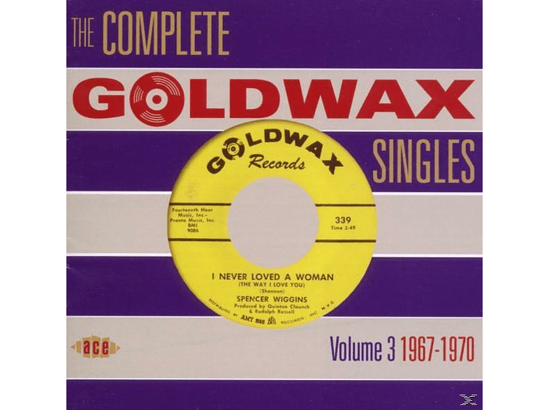 VARIOUS - Complete Goldwax Singles 3: 1967-1970 [CD]