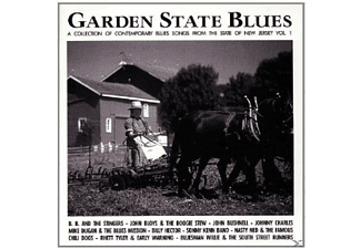 VARIOUS - Garden State Blues-New Jersey - (CD)