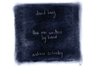 Andrew Zolinsky - This Was Written By Hand - (CD)