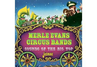 Merle & Circus Band Evans - Sounds Of The Big Top Circus Music - (CD)