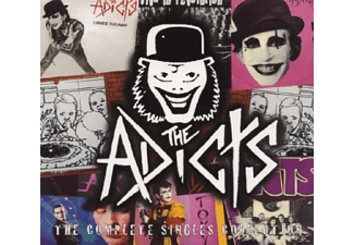 The Adicts - COMPLETE SINGLES/LIM.ED.DIGIP. - (CD)