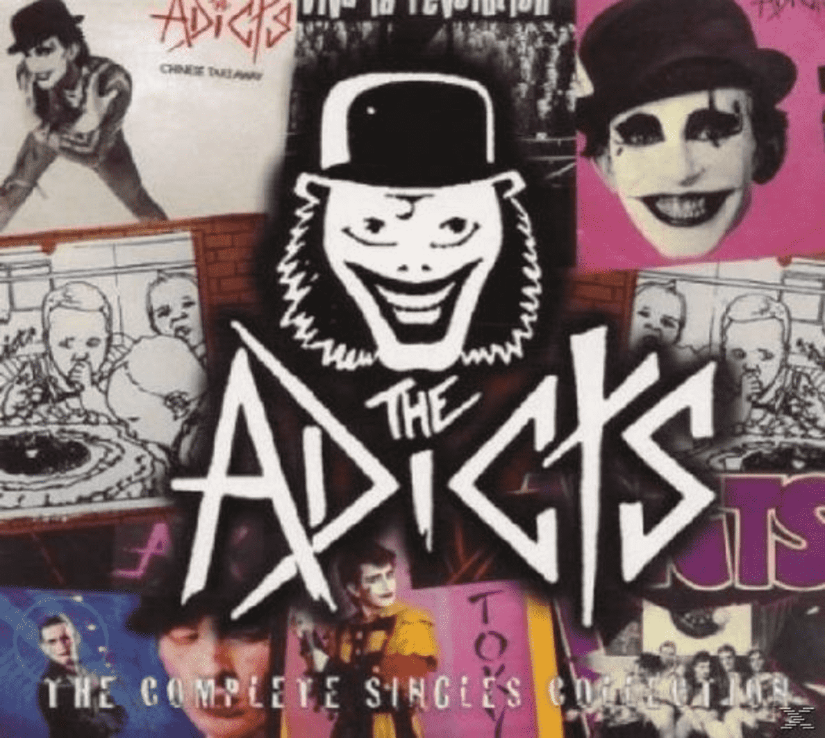 COMPLETE SINGLES/LIM.ED.DIGIP. The Adicts auf CD