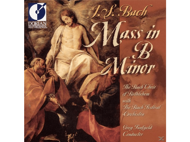 Greg/bach Choir Of Bethlehem Funfgeld - Bach H-moll Messe [CD]