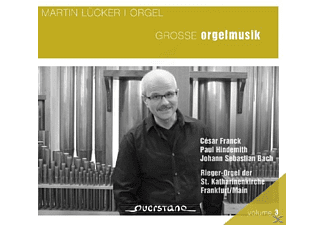 Martin Lücker - Grosse Orgelmusik - (CD)