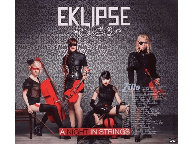 Eklipse - A Night In Strings (Ltd.Digipak) [CD]