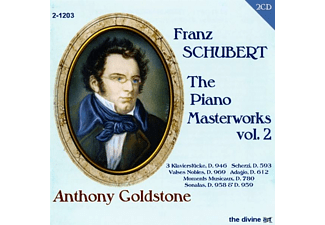 Anthony Goldstone - The Piano Masterworks Vol.2 - (CD)