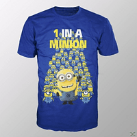 MINIONS - 1 IN A MINION (SHIRT M BLUE)