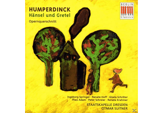 VARIOUS, Sd, Suitner, Springer, Schroeter - Hänsel Und Gretel (Qs) - (CD)