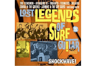 VARIOUS - Lost Legends Of Surf Guitar Vol.4 - (CD)