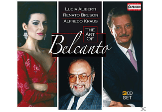 Lucia Aliberti, Kraus Alfredo, Bruson Renato - The Art Of Belcanto - (CD)