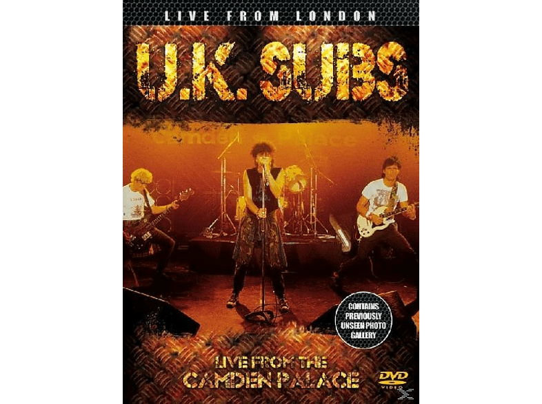 Uk Subs - Live From London [DVD]
