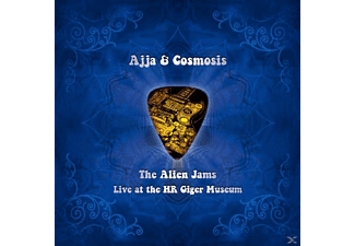 Ajja & Cosmosis - Alien Jams - (CD)