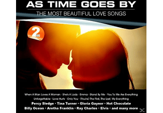 VARIOUS - As Time Goes By-The Most Beautiful Love Songs - (CD)