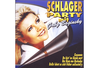 Gaby Baginsky - Schlagerparty Mit - (CD)