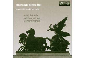 Gulbenkian Orch., Pillai/Hogwood/Gulbenkian Orch. - Complete Works For Viola - (CD)