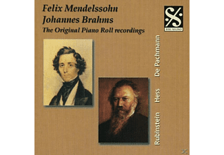 VARIOUS - Brahms Piano Roll Recordings - (CD)