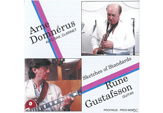 DOMNERUS, A. / GUSTAFSON, R. - Sketches Of Standards - (CD)