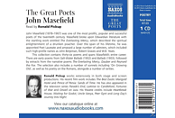 Ronald Pickup - The Great Poets - (CD)