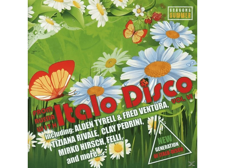 VARIOUS - From Russia With Italo Disco Vol.6 [CD]