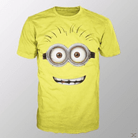 Minion Goggle Face (Shirt S/Gelb)
