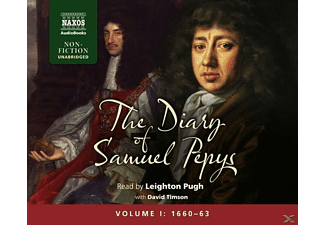 The Diary of Samuel Pepys: Vol.1 - 34 CD - Hörbuch