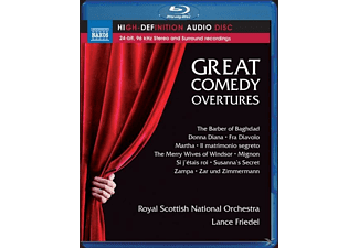 Lance/royal Scottish National Orchestra Friedel - Great Comedy Overtures [Blu-ray Audio]