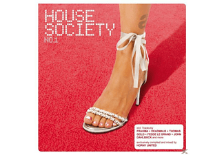 VARIOUS - house society no.1 - (CD)