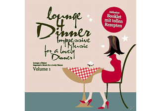 VARIOUS - Lounge 4 Dinner-Impressive Music For A Lovely Dinn - (CD)