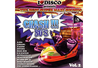 VARIOUS - Crash !!! 80's Vol.2 [CD]