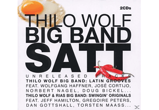 Thilo Big Band & Rias Big Band Wolf - Thilo Wolf Big Band Satt - (CD)