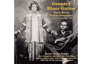 BLOCK,RORY & GROSSMAN,STEFAN - Country Blues Guitar - (CD)