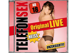VARIOUS - Telefonsex-Original Live (Ab 18) - (CD)