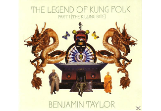 Benjamin Taylor - The Legend Of Kung Folk Part 1 (The Killing Bite) - (CD)