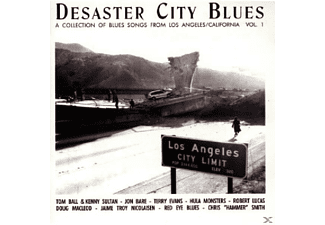 VARIOUS - Desaster City Blues-Vol.1 - (CD)