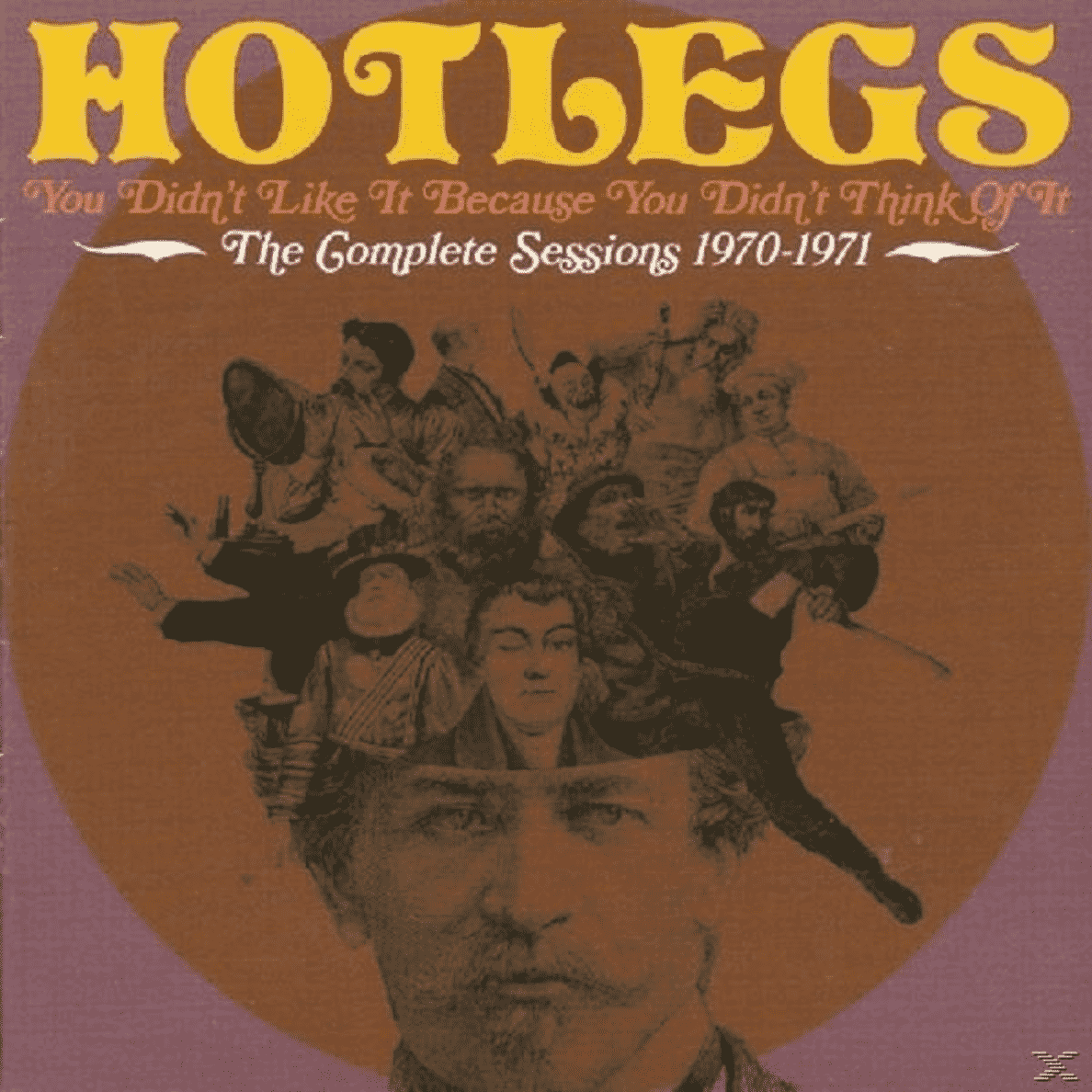 You Didn´t Like It Because You Didn´t Think Of It: The Complete Sessions 1970-1971 Hotlegs auf CD