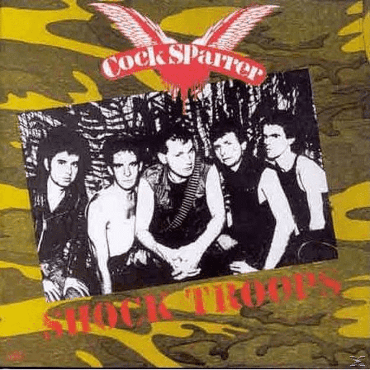 Shock Troops Cock Sparrer auf CD