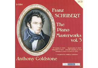 Anthony Goldstone - The Piano Masterworks Vol.3 - (CD)
