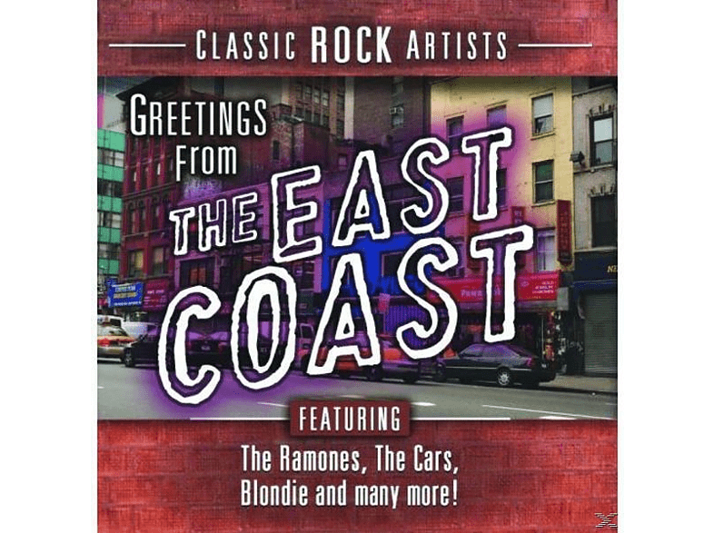 VARIOUS - Greetings From The East Coast [CD]